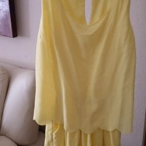 ROMPER WITH SHORTS NWOT
